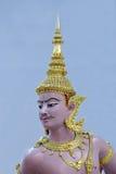 Dieu et les démons à l'aéroport de la Thaïlande Suvarnabhumi Photos libres de droits