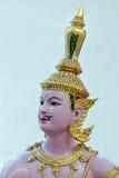 Dieu et les démons à l'aéroport de la Thaïlande Suvarnabhumi Photo stock