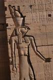 Dieu Faucon-dirigé Horus Photographie stock
