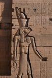 Dieu Faucon-dirigé Horus Photographie stock libre de droits