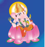 Dieu Ganapathi Photos stock