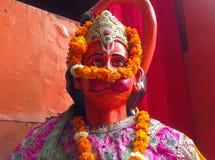 Dieu Hanuman Image libre de droits
