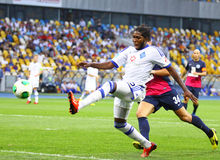 Dieumerci Mbokani of Dynamo Kyiv Royalty Free Stock Images