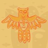 Dieux en bronze permiens de vecteur Image libre de droits