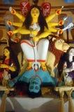 Diez dieron el ídolo de Durga. Fotos de archivo