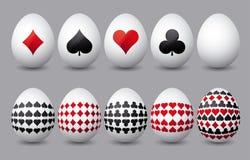 Diez huevos de Pascua, vector