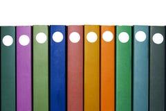 Diez libros Foto de archivo libre de regalías