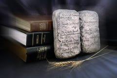 Diez mandamientos Imagenes de archivo