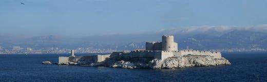 DIf замка замка около марселя, Франции Стоковое Изображение RF
