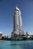 DIFC大厦在迪拜 免版税库存图片