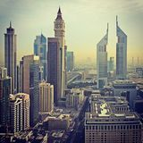 DIFC - Dubai, UAE Royalty Free Stock Photo