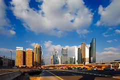 DIFC is the financial hub of Dubai, UAE Stock Photo