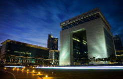 DIFC gate building Dubai Royalty Free Stock Photography