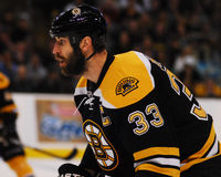 Difensore Zdeno Chara di Boston Bruins Immagine Stock