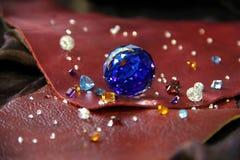 A diferença das gemas fotografia de stock royalty free