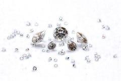 A diferença do diamante imagens de stock