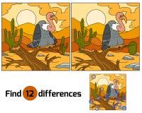 diferencias del hallazgo Imagen de archivo
