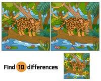 diferencias del hallazgo Imagenes de archivo
