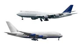 diferente tipo 2 de aviones Fotos de archivo libres de regalías