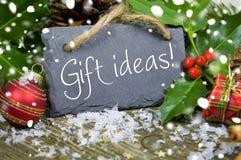 Diferentes tipos de decoración de la Navidad imagen de archivo