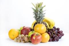 Diferentes tipos de frutas Imágenes de archivo libres de regalías
