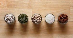 Diferentes tipos de granos Imagen de archivo