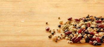 Diferentes tipos de granos Imagenes de archivo