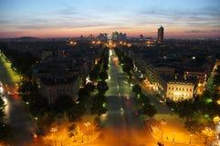 Difesa della La di Parigi fotografia stock