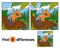 Différences de découverte, Numbat Illustration Stock