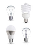 Différentes ampoules illustration stock