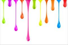Différentes baisses coloré illustration 3D Vecteur Photo libre de droits
