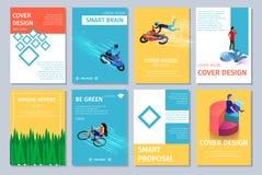 Différentes bannières verticales réglées avec l'espace de copie illustration libre de droits