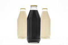 Différentes bouteilles colorées Photo libre de droits