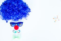 Différentes choses de clown Photo stock