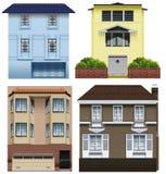 Différentes conceptions de bâtiment Photos stock