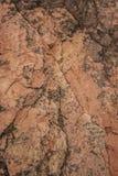 Différentes couches colorées de roche Photo stock