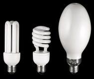 Différentes lampes Photo libre de droits
