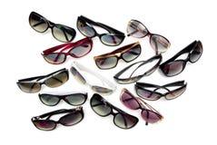 Différentes lunettes de soleil photo stock