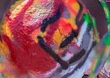 Différentes peintures de couleur sur Cadillac Photos stock