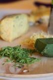 Différentes pentes de fromage Image stock