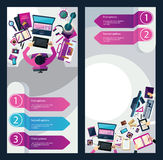 Différentes professions Business illustration libre de droits