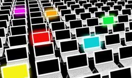 Différentes technologies illustration libre de droits