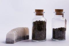 Différentes variantes de thé Photographie stock