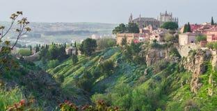 Différentes vues de Toledo photographie stock libre de droits