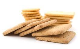 Différents biscuits et casseurs Photographie stock