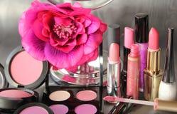Différents cosmétiques Images libres de droits