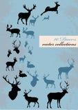 Différents deers Illustration Libre de Droits