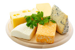 Différents fromages Photo stock