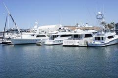 Différents genres de bateaux de vitesse Photo libre de droits