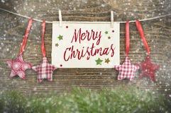 Différents genres de décoration de Noël photographie stock libre de droits